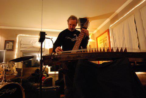 Jon multitasking at rehearsal