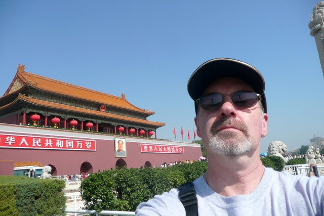 Jon in Beijing, 2010